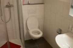 Dusche mit WC und Brünneli